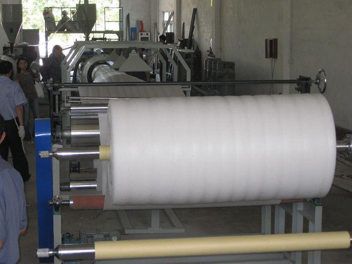 珍珠棉发泡片材挤出机 2