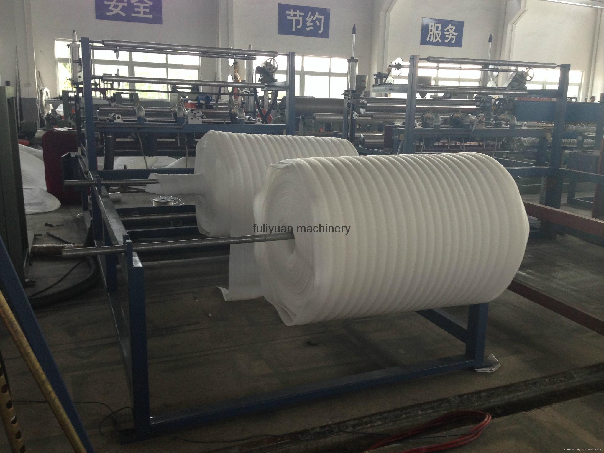 Epe Foam Sheet Bonding Machine 1400mm 2000mm Fuliyuan