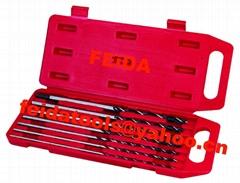 7pcs long wood drill bit set