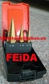 3pcs hss step drill set