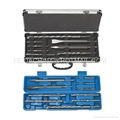 10pcs sds drill bit set