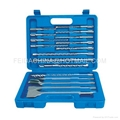 17pcs sds drill bit set