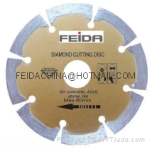 dry saw blade