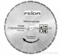 brazed saw blade for concrete