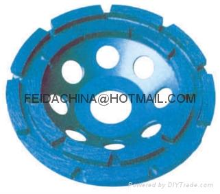 diamond cup wheel(double row)