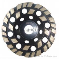 diamond cup wheel(double