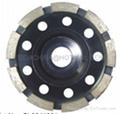 diamond cup wheel(single row)