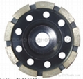 diamond cup wheel(single row)