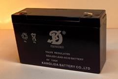6V12AH免維護蓄電池