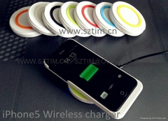 iPhone5 wireless charger mat
