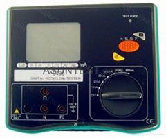 Digital RCD (ELCB) tester