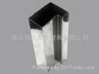 不鏽鋼單槽方管