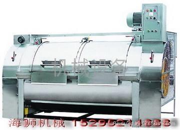 服棉衣乾洗店提供工業洗衣機 1