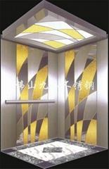 不鏽鋼電梯蝕刻板 電梯裝飾板 電梯花紋板