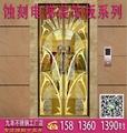 定製珠海不鏽鋼電梯門裝飾板,蝕刻廠家,蝕刻加工 2