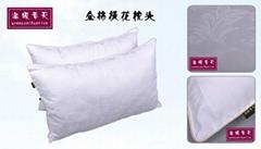 全棉提花促銷枕頭