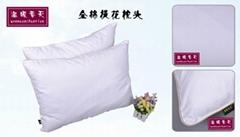 全棉提花促销枕头
