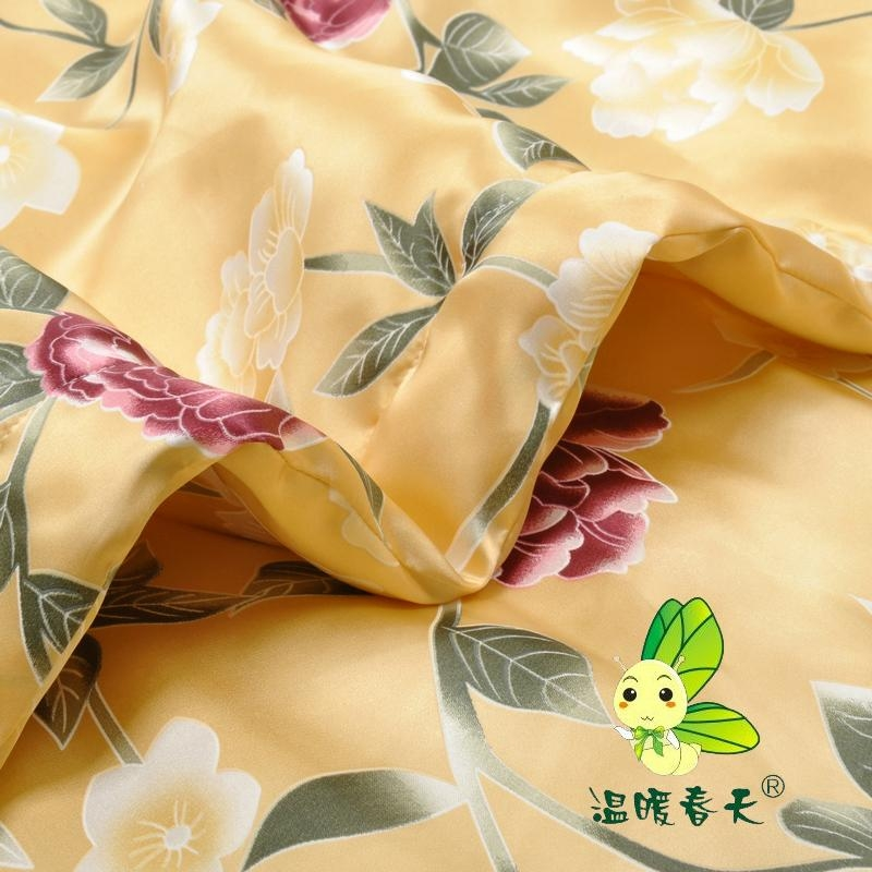 Sumptuous mulberry silk washing air conditioner quilt 5