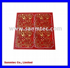 6 Layers Printed Circuit Board (immersion gold PCB)