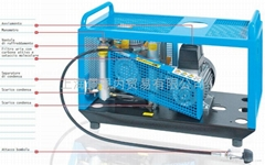 意大利科爾奇MCH6箱體型高壓空氣壓縮機