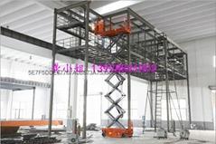 广州南沙刷油漆出租剪叉式升降机,自行走升降机出租