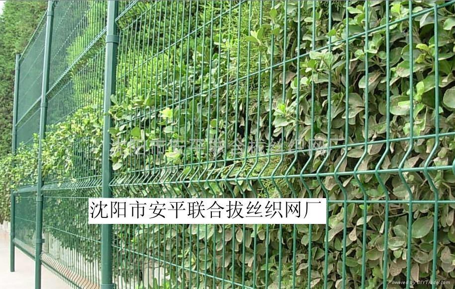 沈阳三角折弯护栏网 1