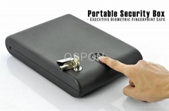 Biometric fingerprint gun safe