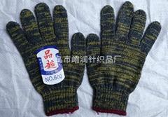 尼龙花线手套