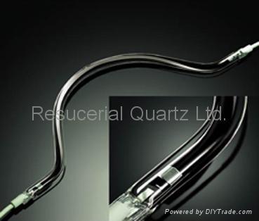 Carbon Fiber Quartz Heater and Infrared Quartz Heater Tube Lamp 4