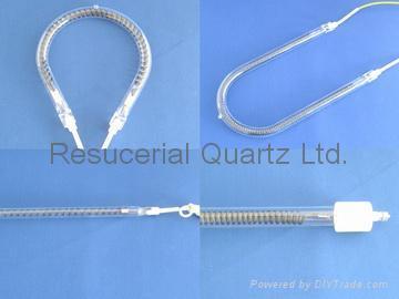 Quartz Tube Heating Elements and Quartz Heater Lamp 1