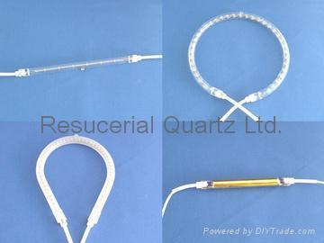 Quartz Tube Heating Elements and Quartz Heater Lamp 3