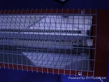 Carbon Fiber Quartz Heater with Reflector 2