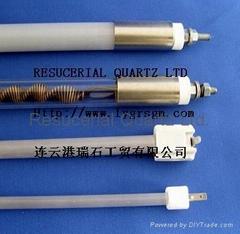 Quartz Heater Tube and Quartz Heating Lamp