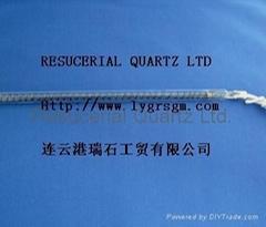 Carbon Fiber Quartz Electric Heating Tube