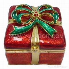 Sell gift metal jewelry boxes