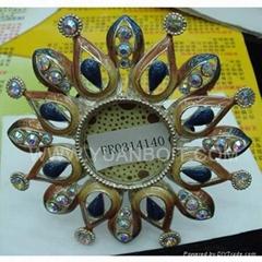 Sell sun-flower metal photo frame