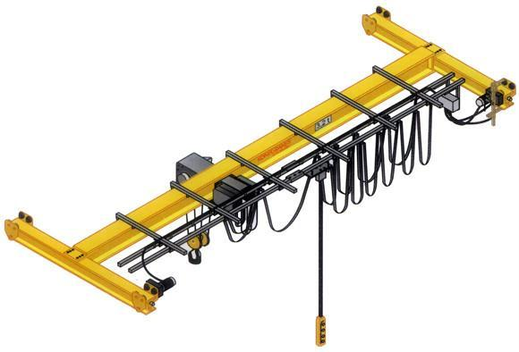 電動葫蘆單梁懸挂式起重機 1