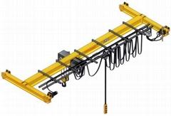 電動葫蘆單梁懸挂式起重機