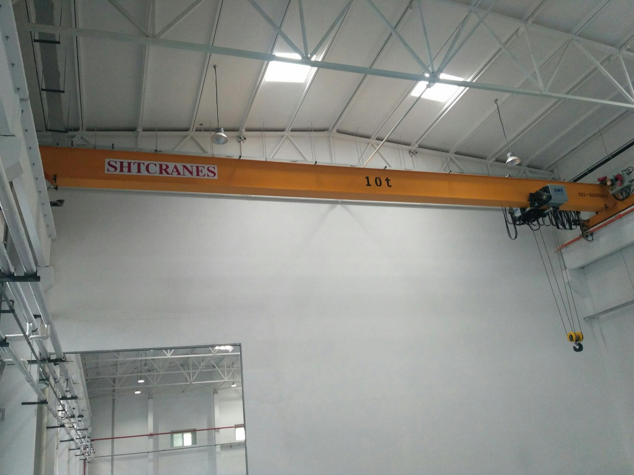 SWF单梁起重机 1