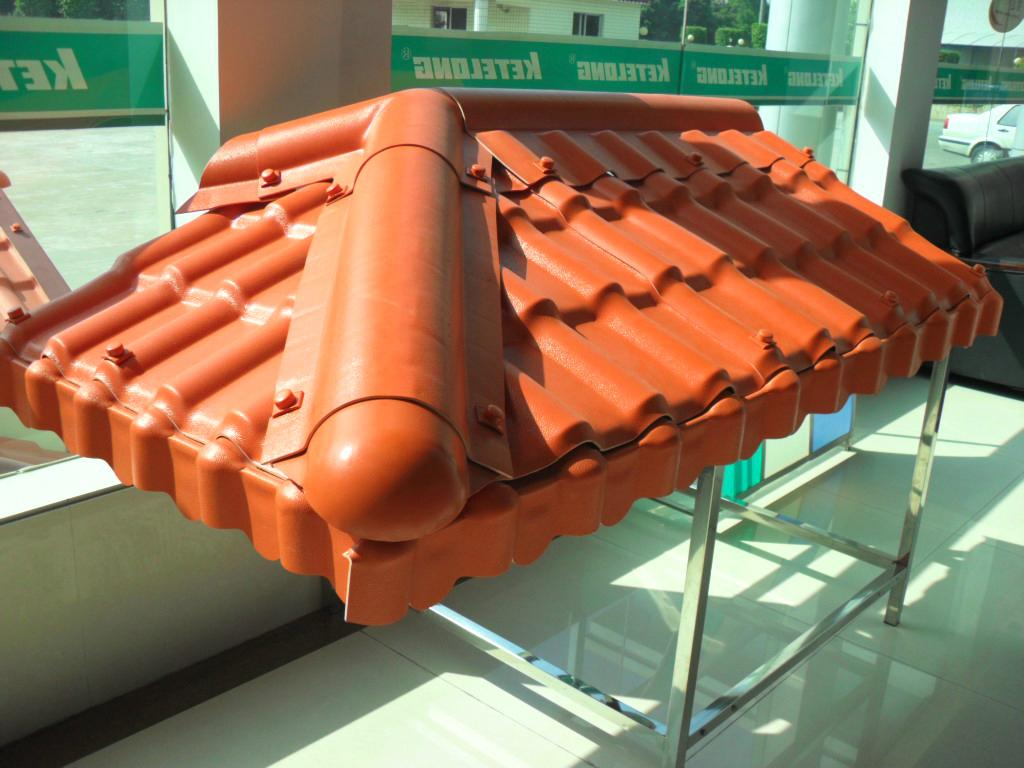 Synthetic Resin Tile (SPANISH ROOFING TILE) 5