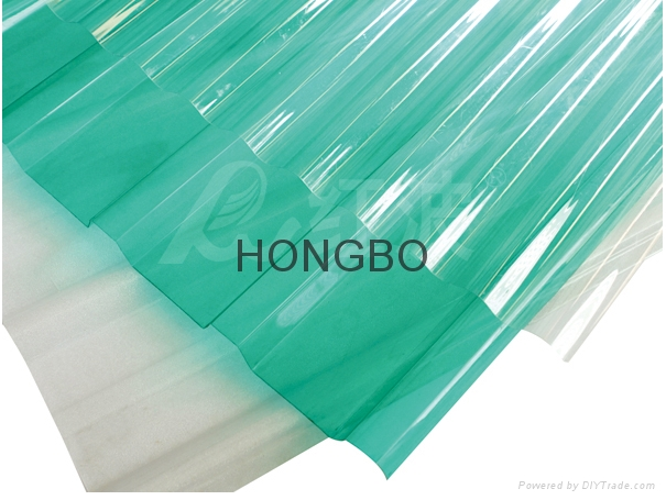 HONGBO PC transparent roofing tile 1