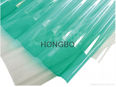 HONGBO PC transparent roofing tile