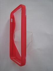 带支架手机保护套S5 适用iphone 5
