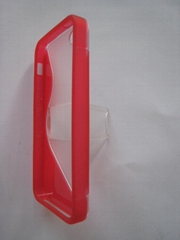 Mobile phone case S5 with bracket for iphone 5