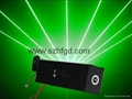 100mw green beam thick flare effect laser pointer head for sale 2