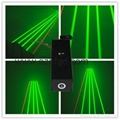 100mw green beam thick flare effect laser pointer head for sale 5