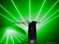 100mw green beam thick flare effect laser pointer head for sale 4