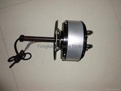 汽车驱动轮毂电机1500w-6