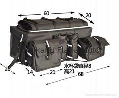沙灘車包后貨架行李包