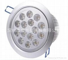 深圳15*3WLED筒灯